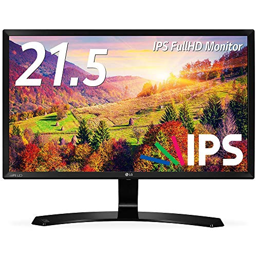 LG モニター ディスプレイ 22MP58VQ-P 21.5インチ/フルHD/IPS 非光沢/HDMI端子付/ブルーライト低減機能