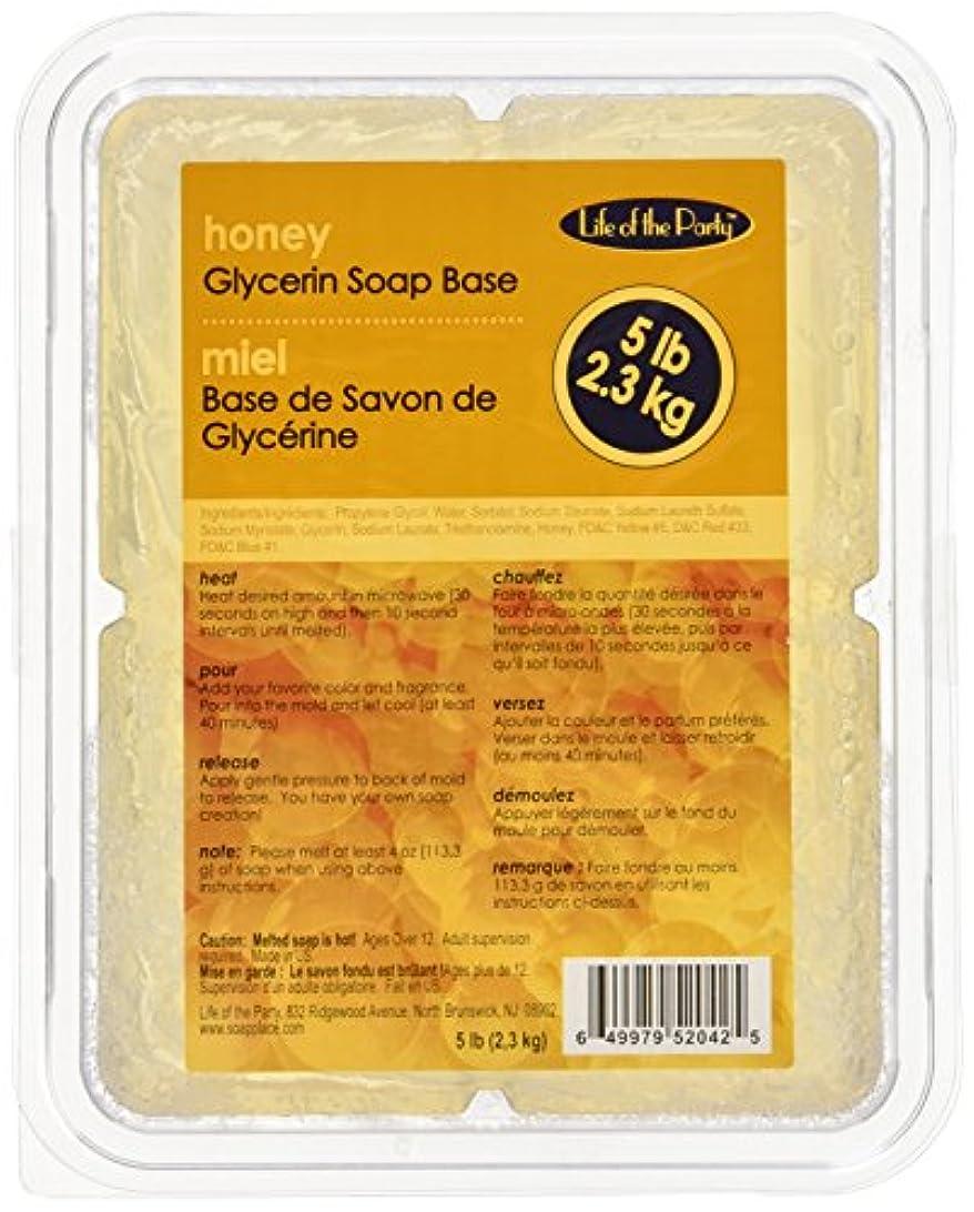 デッドロックマニア振幅Soap ベース 5 ポンド蜂蜜