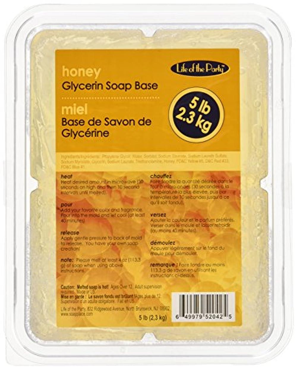 定常十億汚すSoap ベース 5 ポンド蜂蜜