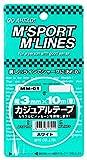 MYS カジュアルテープ ホワイト(3mm×10m) MM-01