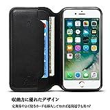 10e78400dc 位, iphone 6 ケース 手帳型 iPhone8 ケース iPhone7/iphone6s - Rssviss アイフォン6/6s/7/8 四機種 対応 カード収納 横置き機能 Qi充電対応 高級PUレザー TPUケース ...