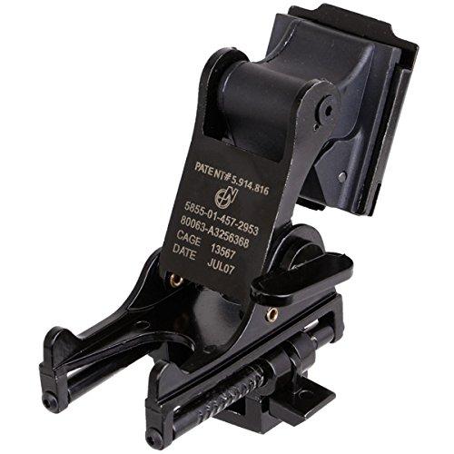 NSRHM NVGマウントステー PVS-7/PVS-14対応 ナイトビジョンマウント bk ヘルメット用 装備 …