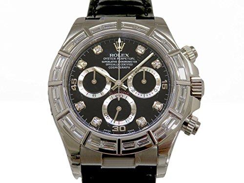 ロレックス デイトナ 116589BR ブラック メンズ 腕時計 [並行輸入品]