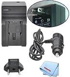 Best Tronixproカメラ - 車/ホーム充電器for bn-vf815充電式バッテリーfor JVC gr-d760us、gr-d760ek、gr-d760ex、gr-d760、gr-d770us、gr-d770ek、gr-d770ex、gr-d770& Moreビデオカメラ+マイクロファイバー布 Review
