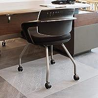 NWK チェアマット デスク クリア 120 * 100cm 椅子 床保護 滑り止め 敷く 畳 床きず防止 フローリングシート 拭きシート オフィスチェア用 床暖房対応 1.5mm厚手 デスクマット 透明 作業台用 撥水加工 耐熱 ズレない
