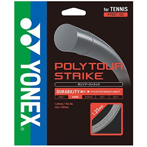 ヨネックス(YONEX) 硬式テニス ストリングス ポリツアーストライク120 PTGST120