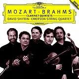 モーツァルト&ブラームス:クラリネット五重奏曲 画像