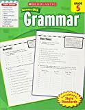 Scholastic Success With Grammar, Grade 5