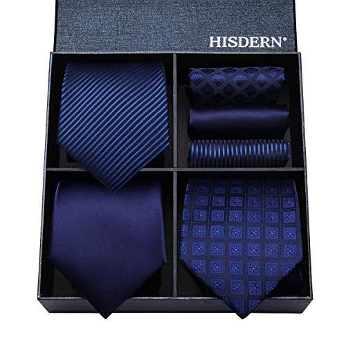 ac0825348fc76 洗える ネクタイ 3本セット メンズ フォーマル ネクタイ セット ビジネス 紺 ハンカチ 結婚式 青 ネクタイ