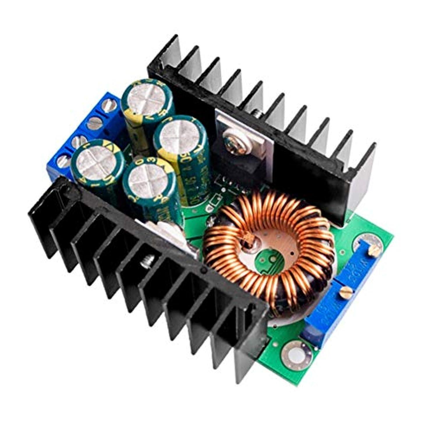荒れ地病気ティーンエイジャーFuntoget パワーモジュール、ヒートベッドパワーモジュール、充電モジュール、降圧型コンバータ、DC-DC CC CV降圧型コンバータ降圧型電源モジュール7-32V?0.8-28V 12A 300W