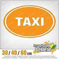 taxi - 3つのサイズで利用できます 15色 - ネオン+クロム! ステッカービニールオートバイ