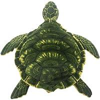 TAGLN おもちゃの動物ぬいぐるみウミガメ子供の枕 (50 CM, グリーン)