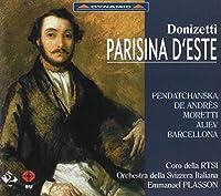 ドニゼッティ:歌劇 エステ家のパリジーナ (Parisina d'Este)