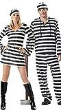 ハロウィン カップル 囚人衣装 コスチューム 仮面舞踏会 クリスマス Xmas パーティー サンタ コスプレ衣装 仮装パーティー1着wsj115 (女)