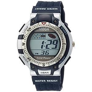 [タイムイン]TIMEIN 腕時計 MEGASOLAR ソーラー MG002-BL メンズ 【正規輸入品】