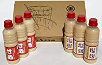 丸善醤油・こだわりの米麹 甘酒・塩麹セット(各3本)