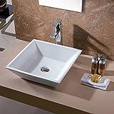 Luxier cs-006浴室磁器セラミックVessel洗面化粧台シンクアートBasin