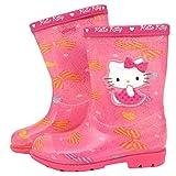 [ハローキティ] [サンリオ] Hello Kitty レインブーツ ピンク 長ぐつ [並行輸入品]