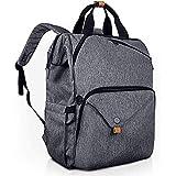 Hap Tim Laptop Backpack 15.6/14/13.3 Inch Laptop Bag Travel Backpack for Women/Men Waterproof School Computer Bag Large Capacity Bookbag for College/Travel/Business (7651-BG)