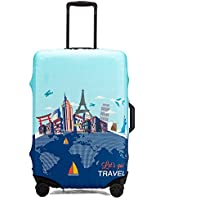 Maddy's Home スーツケースカバー 伸縮素材 保護 盗難防止 防塵 パンダ 海馬 動物柄