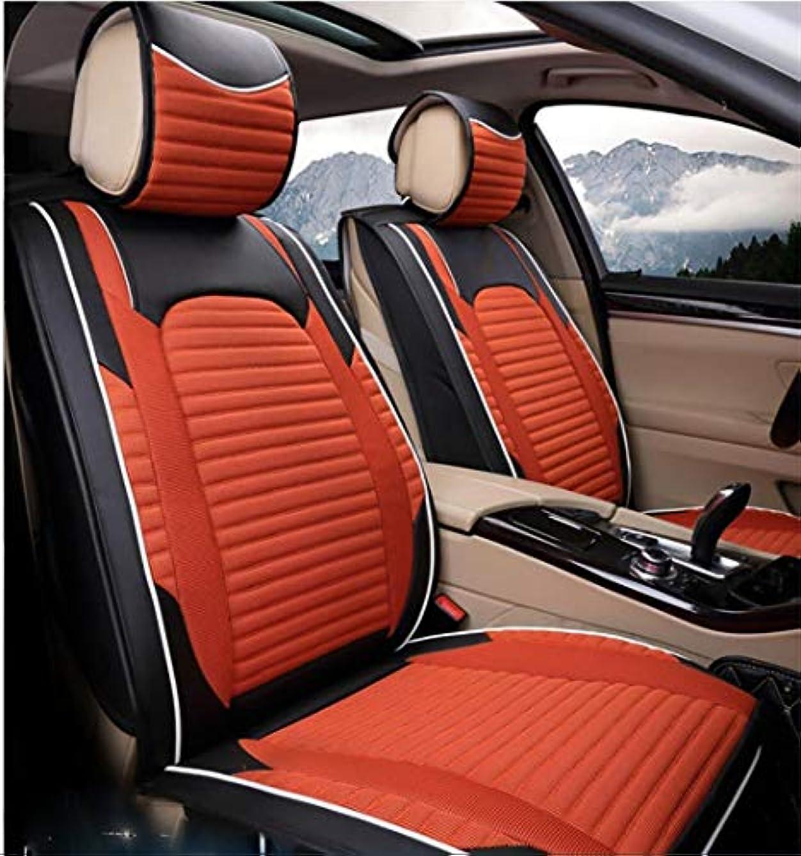 何かラップトップ水平カーカーシートプロテクター用シートカバー 一般車用クッションセットリネンデラックス版(7セット)一般車用クッションカバーFour Seasons Universal 7色選択 カーシートクッションカーシートマット (色 : #31)