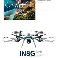 FX-8G ワンキーリターン ドローン 1080Pカメラ付き GPS搭載  白黒