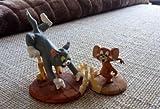 トムとジェリー フィギュア Extreem Rare! Turner Ent. Tom & Jerry Polyresin Small Statues Set 1999 Marked [並行輸入品]