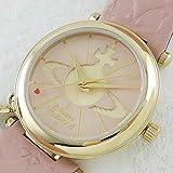 【定番】ヴィヴィアン ウエストウッド 腕時計 カーフスキン VV006PKPK