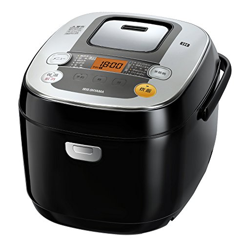 アイリスオーヤマ 炊飯器 IH式 1升 銘柄炊き分け機能付き RC-IB10-B...
