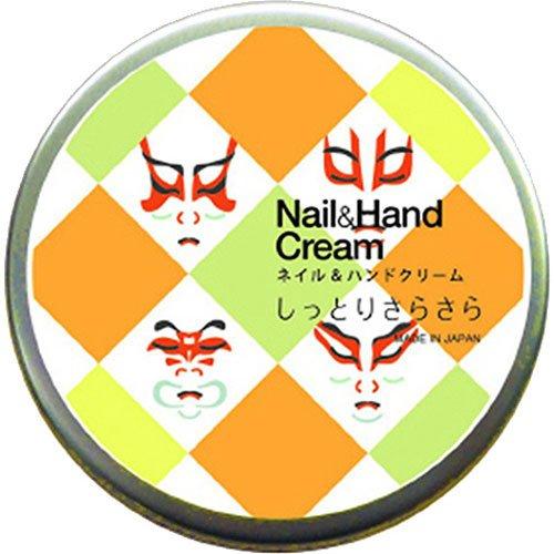 ネイル&ハンドクリーム しっとりさらさら 歌舞伎 50g