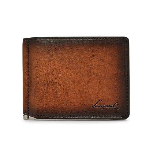 青木鞄 Lugard(ラガード) 二つ折り財布 小銭入れあり G-3 No.5209 メンズ 本革 牛革 レザー