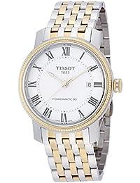 [ティソ] TISSOT 腕時計 ブリッジポート オートマティック パワーマティック80 シルバー文字盤 ブレスレット T0974072203300 メンズ 【正規輸入品】