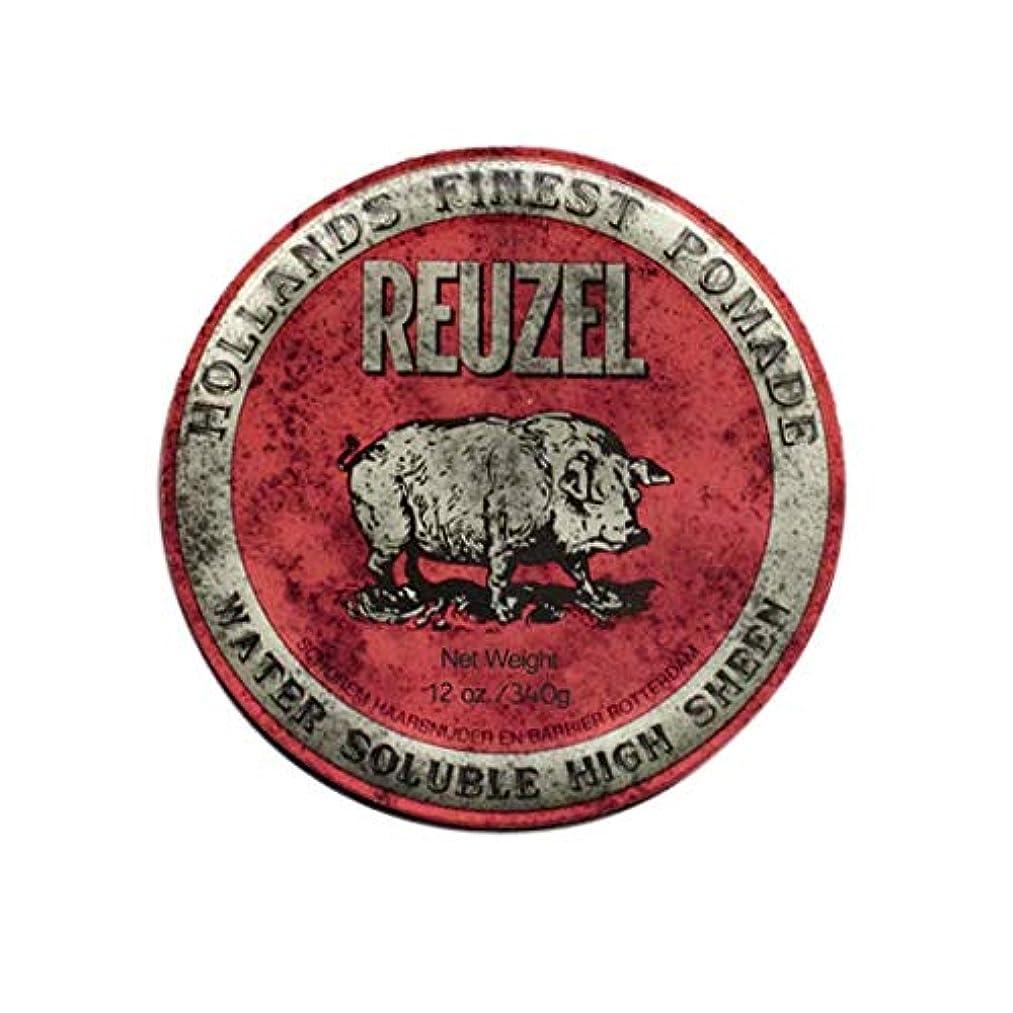 秀でる優遇ツーリストルーゾー(REUZEL) ミディアムホールド レッド HIGH SHINE 340g