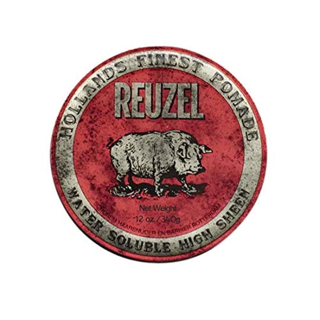 に勝る死傷者スーダンルーゾー(REUZEL) ミディアムホールド レッド HIGH SHINE 340g
