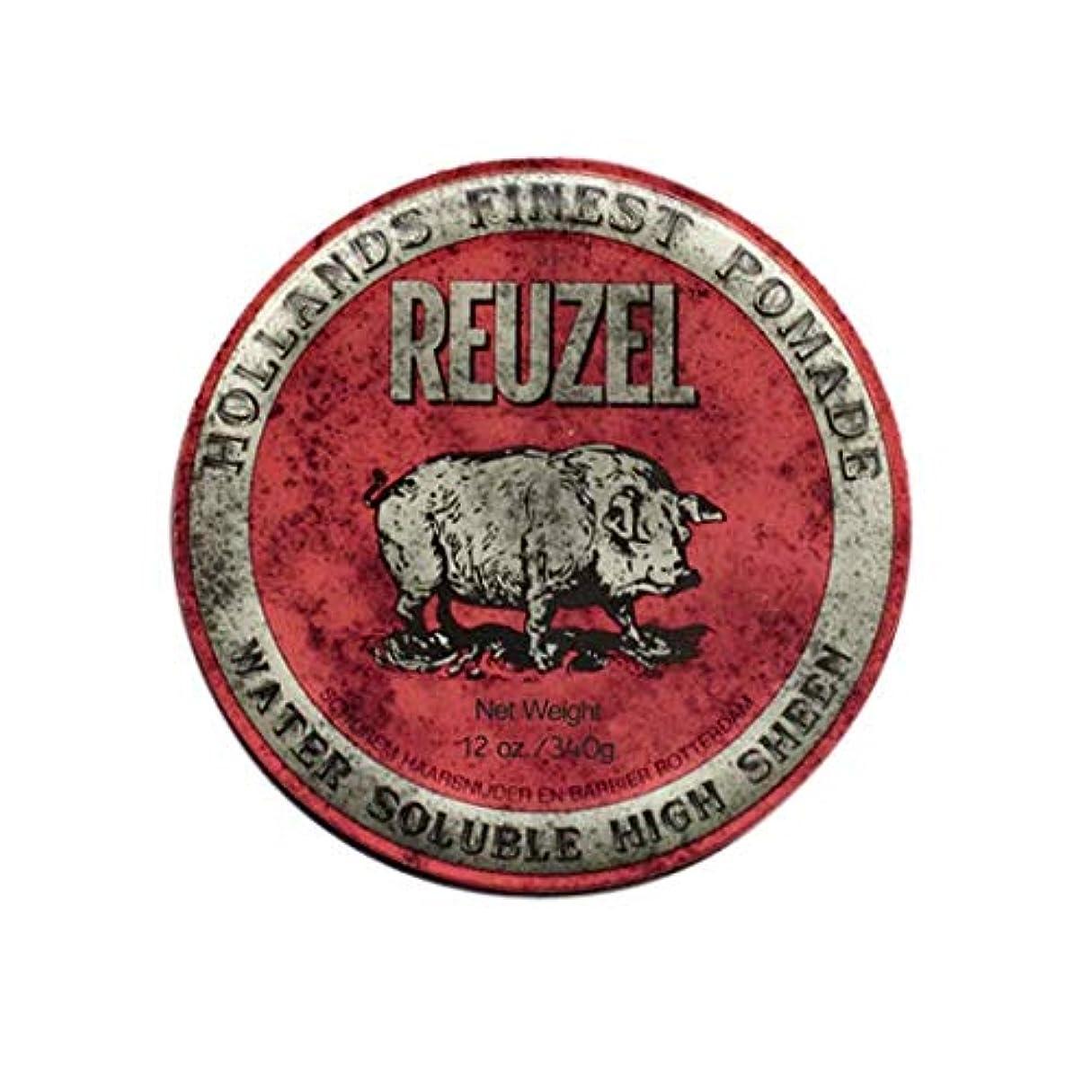 取得するピンク偽装するルーゾー(REUZEL) ミディアムホールド レッド HIGH SHINE 340g