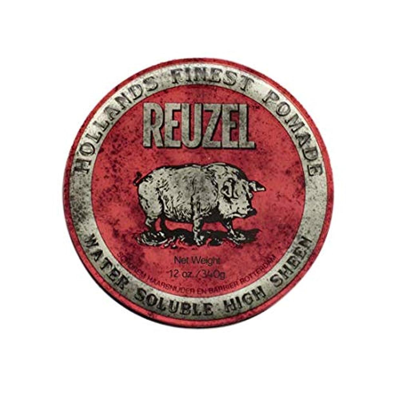 アデレード穴ジョージスティーブンソンルーゾー(REUZEL) ミディアムホールド レッド HIGH SHINE 340g
