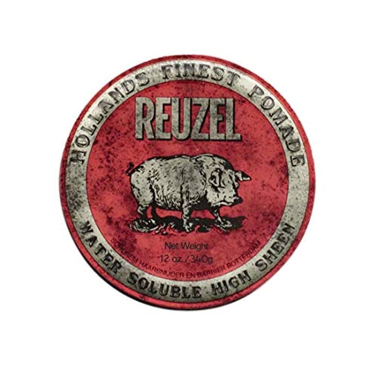 クモ均等に不安ルーゾー(REUZEL) ミディアムホールド レッド HIGH SHINE 340g