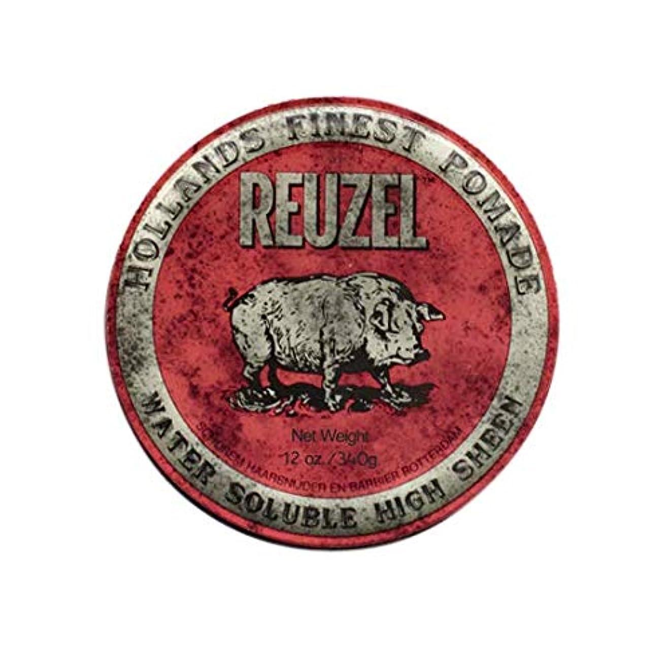 無関心ポータルどんなときもルーゾー(REUZEL) ミディアムホールド レッド HIGH SHINE 340g