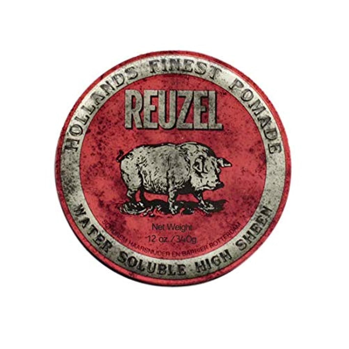 一掃するサバント満足させるルーゾー(REUZEL) ミディアムホールド レッド HIGH SHINE 340g