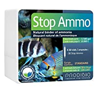 Prodibio Stop Ammo Ammonia Neutralizer Freshwater and Saltwater 30/1 mL vials 30 gal and up [並行輸入品]