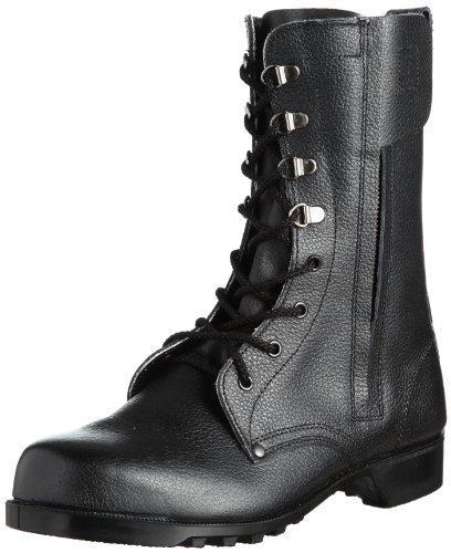 [ミドリ安全]安全靴 JIS規格 長編上靴 VPセーフ V2133N チャック ブラック26.5