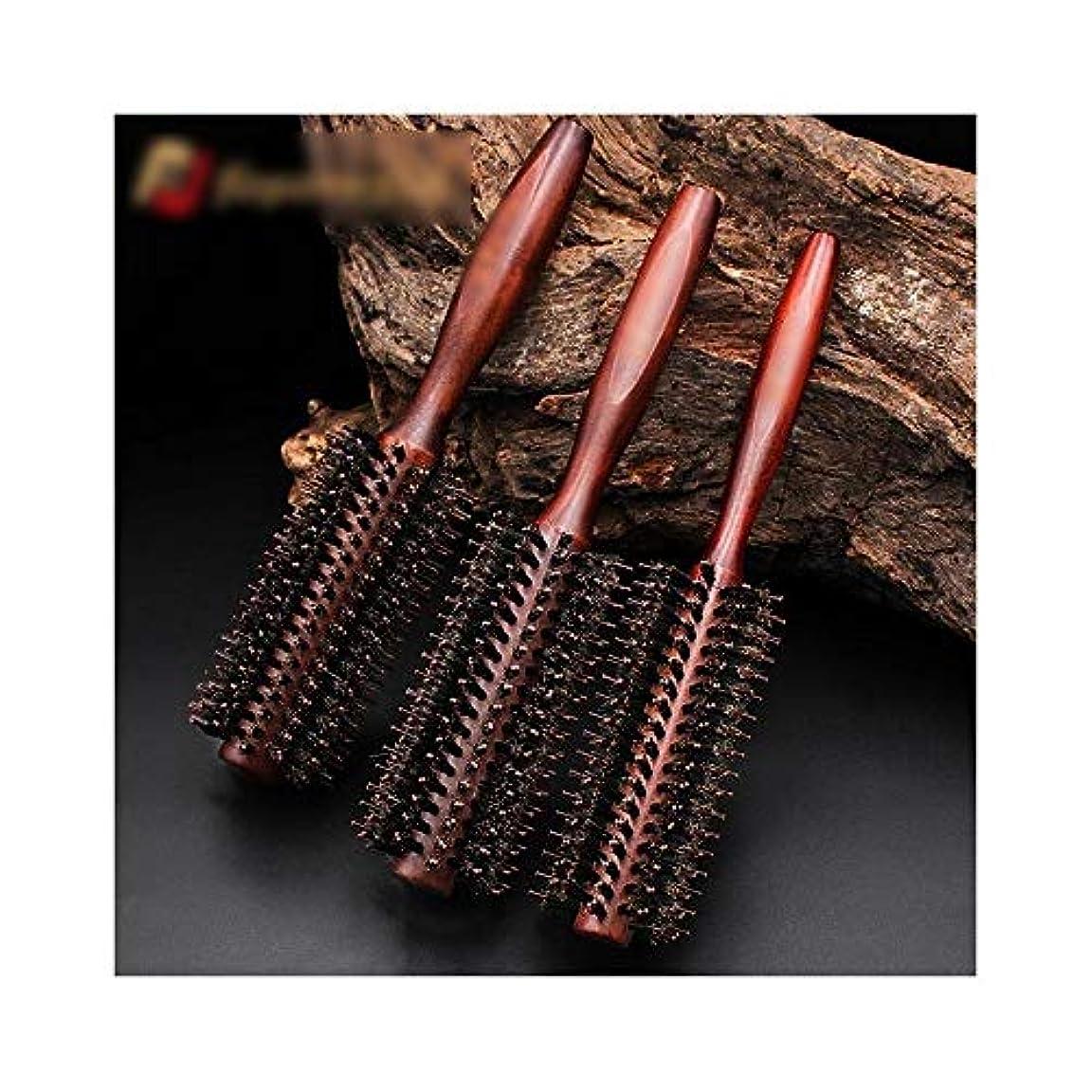 急勾配のバスト記憶ヘアコーム理髪くし 髪の毛ラウンドブラシコームツイルブロードライヘアコーム用ヘアスタイリング乾燥カーリングブラシ ヘアスタイリングコーム (Color : Straight, Size : S)