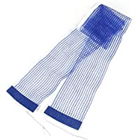1,75 m Blanc bord en Nylon Filet de Ping Pong Tennis de Table Bleu