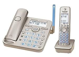 パナソニック デジタルコードレス電話機 子機1台付き 1.9GHz DECT準拠方式 シャンパンゴールド VE-GD53DL-N