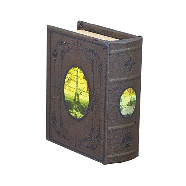 アンティーク ブック型オルゴール [リング差し付...の商品画像