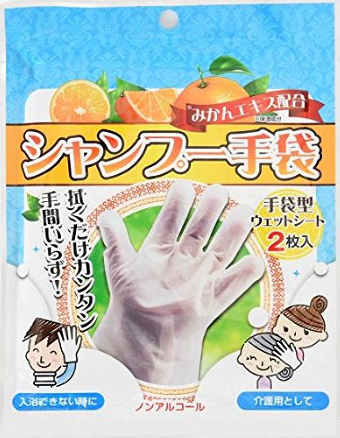 秘書ちなみによりシャンプー手袋 2枚入×80袋セット (合計160枚)