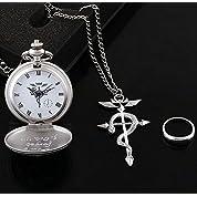 鋼の錬金術師 懐中時計 指輪 ネックレス  3点セット 箱付き