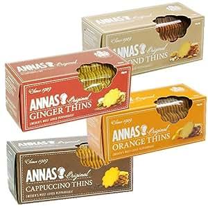 スウェーデン王室御用達 アンナビスケット 4種類セット 4種類×3個入り