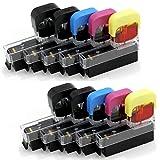 BCI-381+380/BCI-371+370/BCI-351+350/5MP〔キヤノン/Canon〕対応 純正互換インク 詰め替えインク 5色パック×2回分