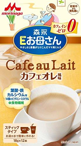 森永 Eお母さん カフェオレ風味 18g×12本入